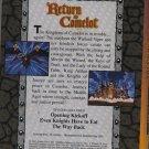 King Arthur's Camelot - 3 EPISODES - VHS VGC! #5082