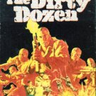 The Dirty Dozen (1967, VHS) Lee Marvin #2854