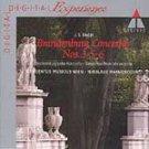 Bach: Brandenburg Concert 3, 5 & 6 HARNONCOURT CD #8394