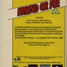 Friend or Foe - ADVENTURE SERIES 2 - VHS RARE! #5170