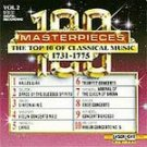 100 Masterpieces Vol 2 - 1731-1775 CD NEW! #9411