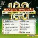 100 Masterpieces Vol 4 - 1788-1810 CD NEW! #8140
