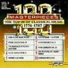100 Masterpieces Vol 3 - 1776-1787 CD NEW! #8112