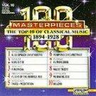 100 Masterpieces Vol 10- 1894-1928 CD NEW! #8498