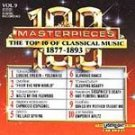 100 Masterpieces Vol 9 - 1877-1893 CD NEW! #8298