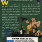 Wallace & Gromit Wrong Trousers VHS NEW SCREENER #1144