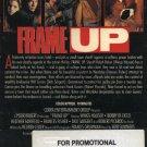 Frame Up (VHS, 1991) NEW SCREENER! #1530
