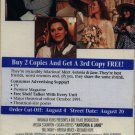 Antonia and Jane (VHS, 1992) NEW SCREENER #1529