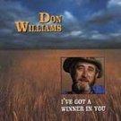 Don Williams - I've Got a Winner in You CD NEW #9507