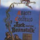 Jack and the Beanstalk VHS Abbott & Costello NEW #1443