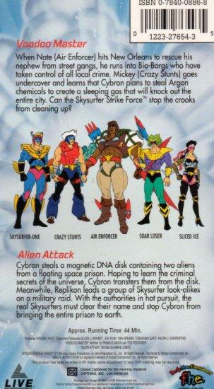 Skysurfer Strike Force: Voodoo Master VHS #1411