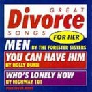 Great Divorce Songs For Her - Various Artists CD #9714