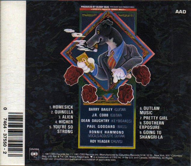 Atlanta Rhythm Section - Quinella CD #8086