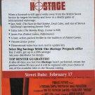 Hostage VHS SCREENER NEW! #2342