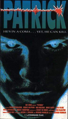 Patrick (VHS, 1990) RARE HORROR CLASSIC VGC! #560
