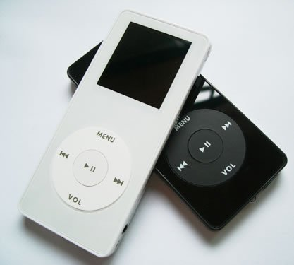 Super-thin Nano Style Mp4 Player  (1GB/2GB /4GB)