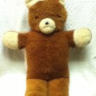 "Vintage Plush Brown Bear_Antique Teddy_Large brown Stuffed Animal Toy 29"" Decor"
