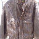 Men's Leather Jacket M (38-40)_Motorcycle _Peruzzi Vera Pelle_Gypsy_Lamb_sheep