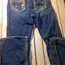 Silver Jeans Suki 25/30 Ornamented Pockets women teens