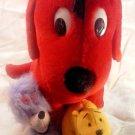 "Big Red Dog Clifford & friends Cleo T Bone Plush Stuffed Animal  20"" Large"