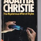 The Mysterious Affair at Styles by Agatha Christie Vintage 1978