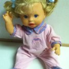 """Fisher Price Mattel Little Mommy Doll 15"""" Interactive"""