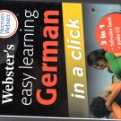 Merrian Webster's Easy Learning German -in a click