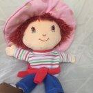 "Strawberry Shortcake Plush Puppet Doll Stuffed Toy 15"" Retired 2003"