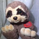 10 Inch Taddle Toes Sassafras Sloth Plush Stuffed Animal by Aurora Big Toes Cute