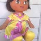 Dora the explorer doll fairy princess talking doll  with yellow dress plush