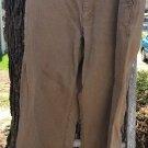 LL Bean 38x30 Kakhi Beige Work Field Utility Pant, Natural Fit