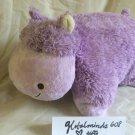 """My Pillow Pets Hippo Large Purple_Lavender by Pillow Pets TM 18x""""17 Soft"""