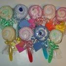 Washcloth Lollipop Baby Shower Favor Gift