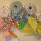Burp Cloth Lollipop Baby Shower Favor Gift