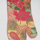 Leaves Kitchen Linens Set Autumn Towel Oven Mitt Pot Holders