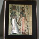 Egyptian Foil Print Framed Wall Decor