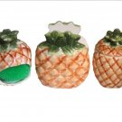 Pineapple Kitchen Accessories Tropical Napkin Holder Mini Canister and Scrubber Holder