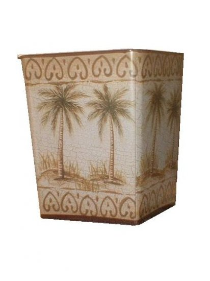 Palm Tree Planter Tropical Home Decor