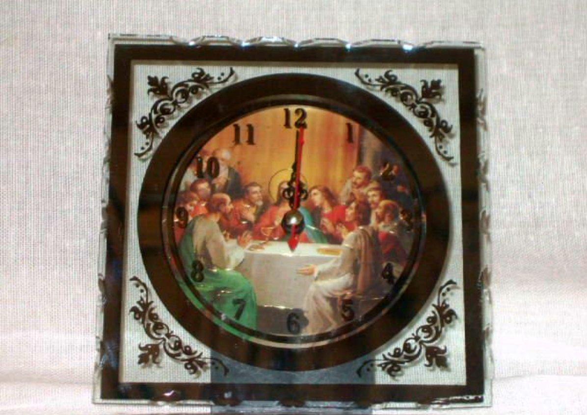 Last Supper Religious Clock Jesus and Disciples