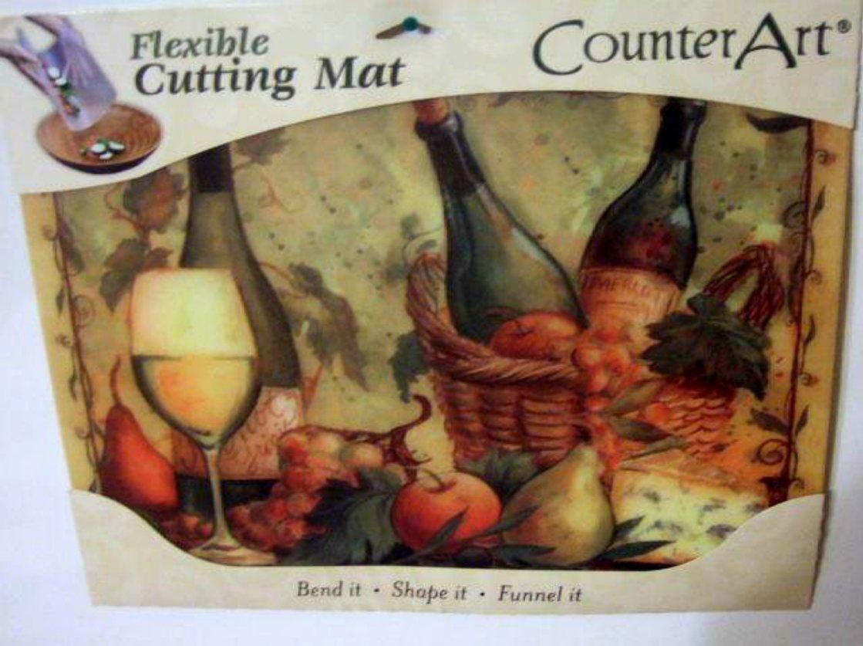 Wine Fruit Flexible Cutting Mat