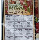 2014 Calendar Kitchen Towel Tuscan Grapes