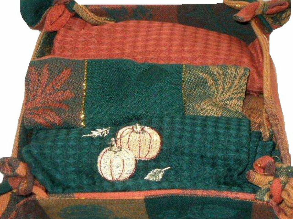 Autumn Kitchen Towels Set Gift Boxed