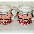 Italian Chefs Coffee Cups Mugs Set