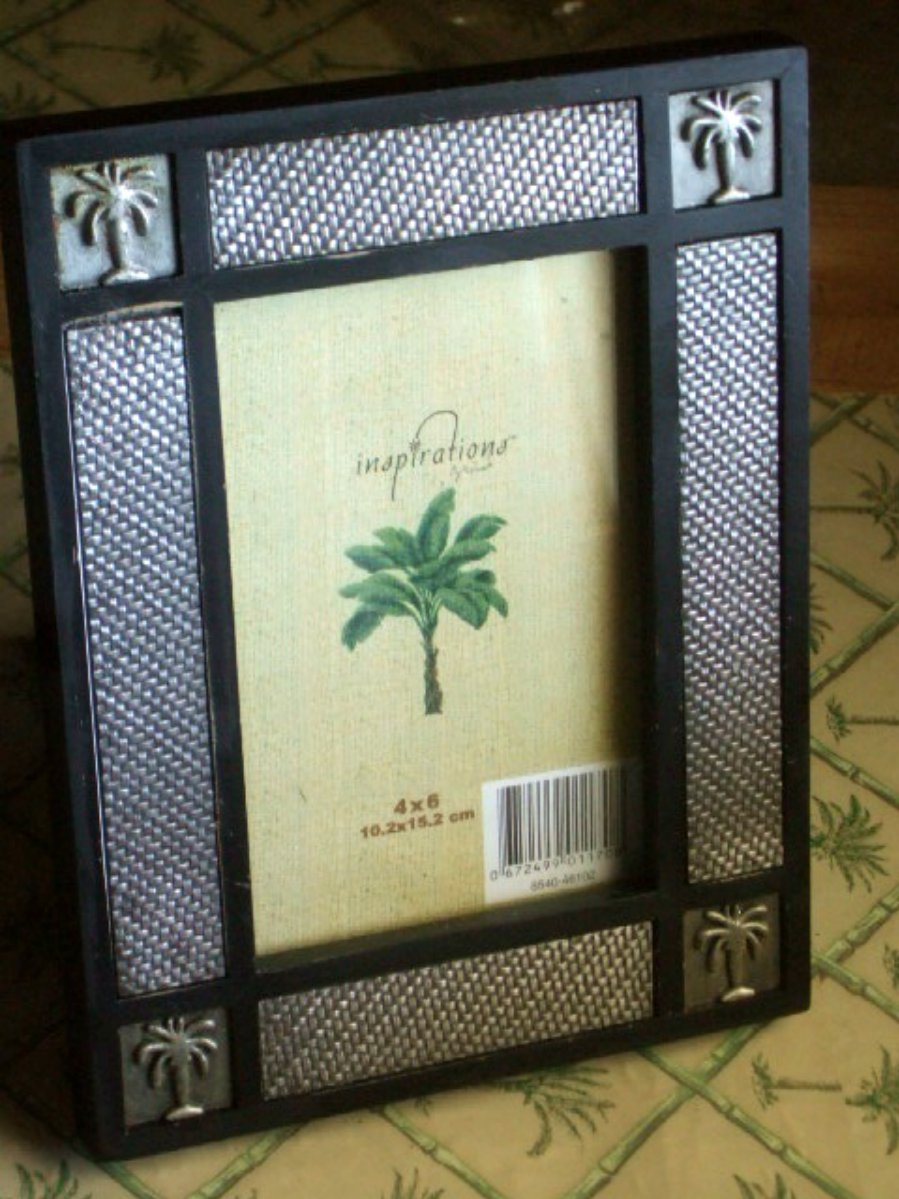 Tropical Palm Trees Photo Frame