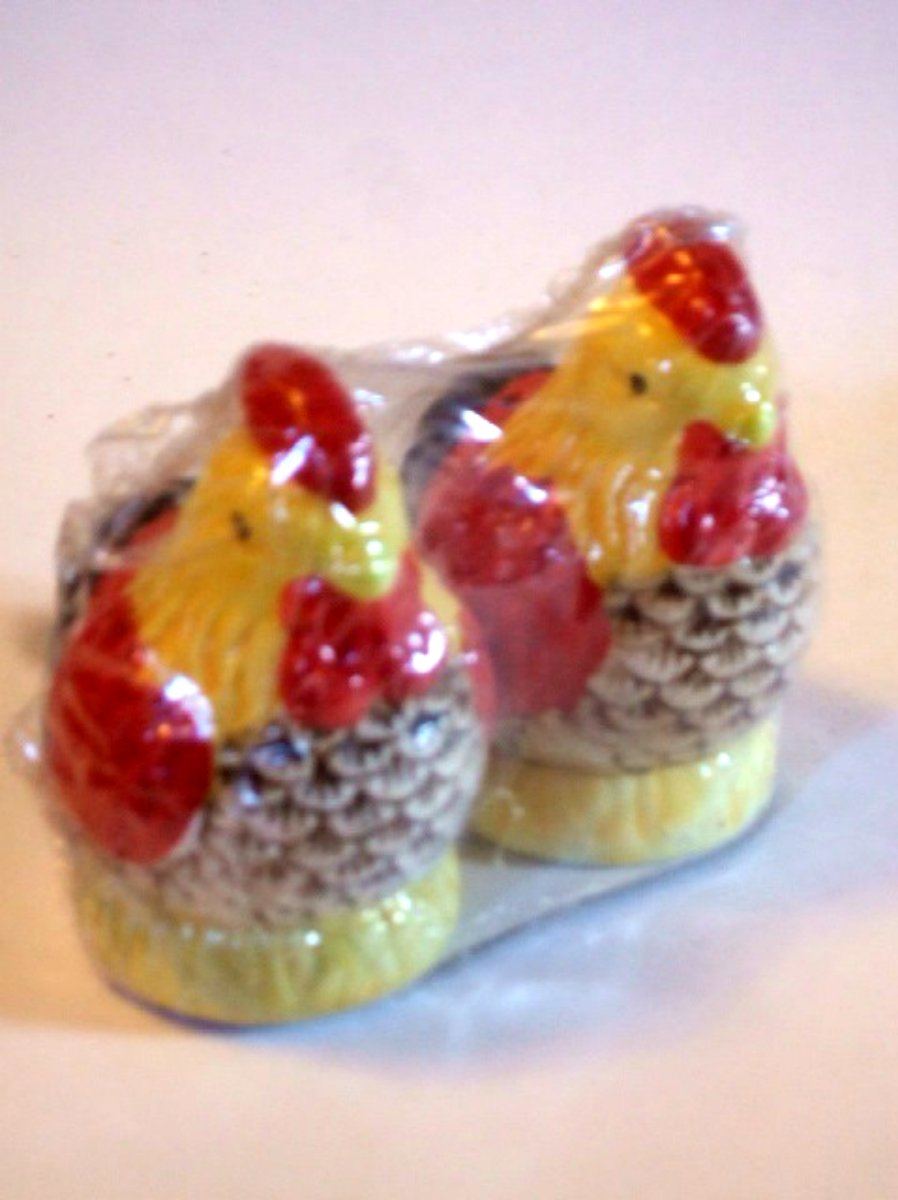 Chicken Salt Pepper Shakers