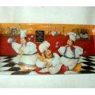 Humorous Fat Chefs Kitchen Tray