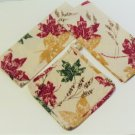Autumn Maple Leaves Kitchen Linens Set Towels Pot Holder