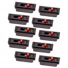 Seat Belt Tension Adjuster (Black, 10-Pack)