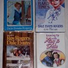 4- Books about Roy Rogers & Dale Evans
