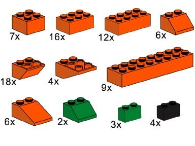 LEGO 3731 - Pumpkin Pack